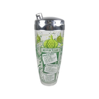 Paris Themed Cocktail Shaker