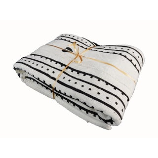 Black & White Mud Cloth Textile
