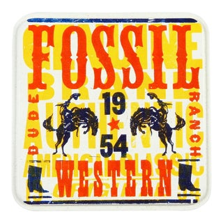 Fossil Dude Ranch Watch Tin Box