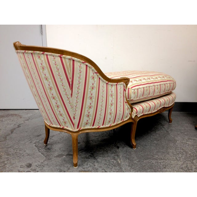 Custom Upholstered Vintage Chaise Lounge Chairish