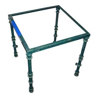 Green Metal Table Base