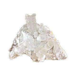 Giant Fishtail Quartz Crystal Formation Specimen