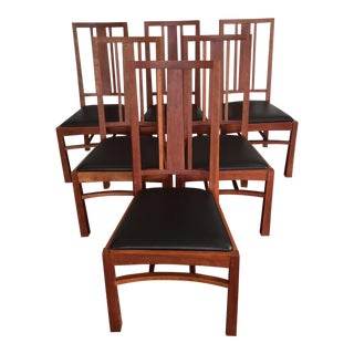 Thomas Moser American Bungalow Chairs - Set of 6