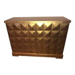 Baker Barbara Barry Gold Leaf Diamond Chest