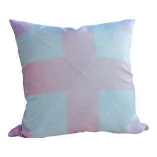 Ralph Lauren Pink Monroe Stripe Down Filled Pillow