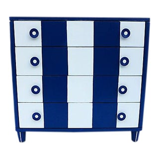 1940s Nautical-Style Painted Dresser