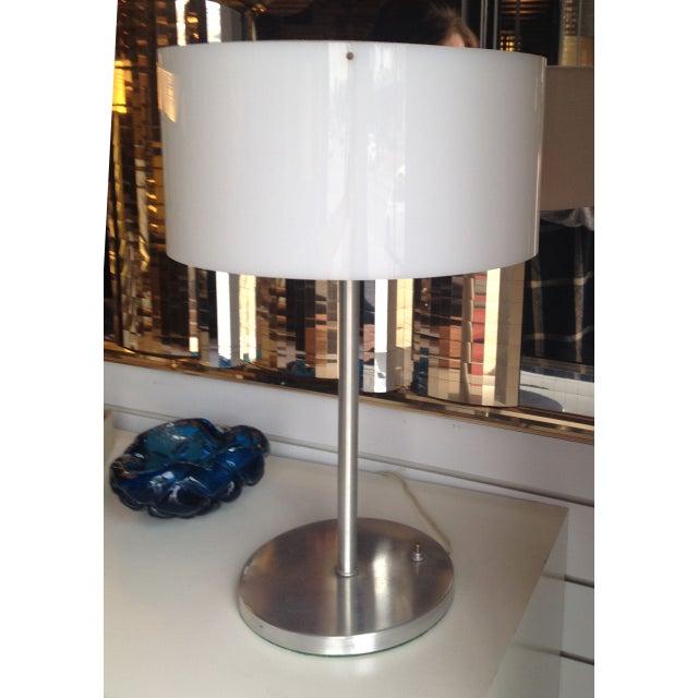 Paul Mayen Table Lamp With White Acrylic Shade - Image 3 of 6