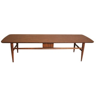 Danish Modern Wood Coffee Table