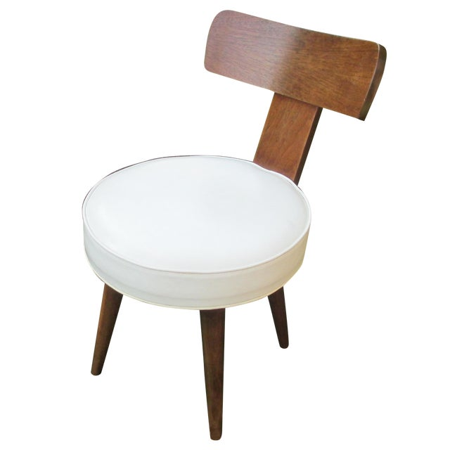 Mid-Century Swivel Vanity Chair - Image 1 of 7