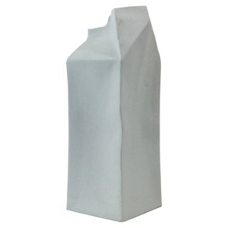 Rosenthal Studio Line Porcelain Milk Carton Vase