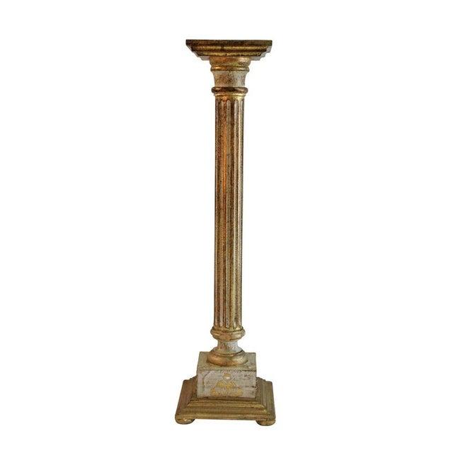 Image of Italian Florentine Pedestal - Pair