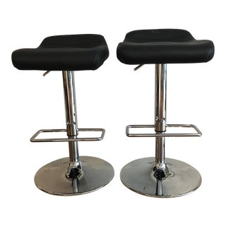 Bolzano Barstools with Gas Cartridge - A Pair