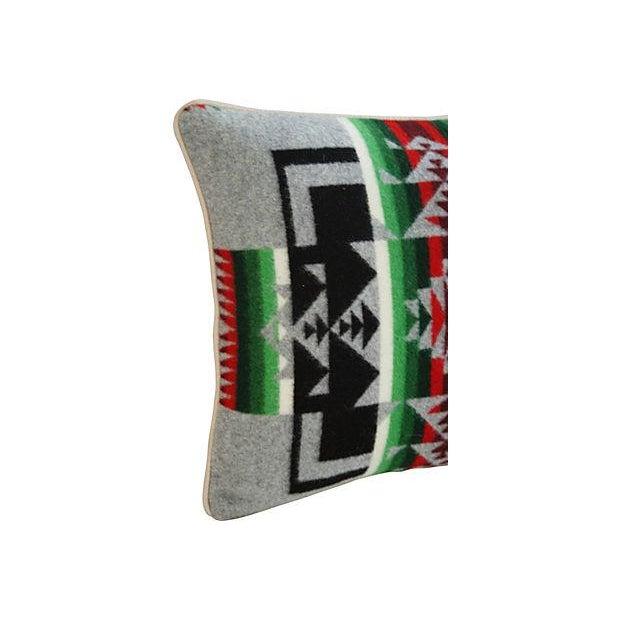 Custom Chief Joseph Pendleton Blanket Pillow - Image 2 of 5