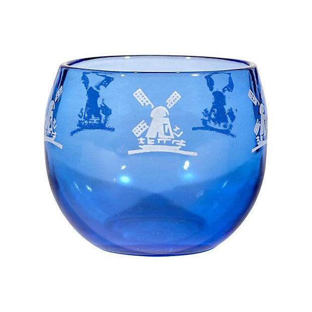 Cobalt Windmill Cocktail Set - Set of 6 - Image 6 of 7