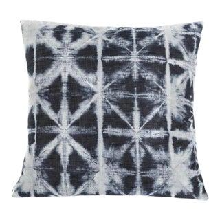 Hand Dyed Denim Decorative Pillow