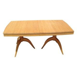 Brown Saltman Gilbert Rohde Dining Table