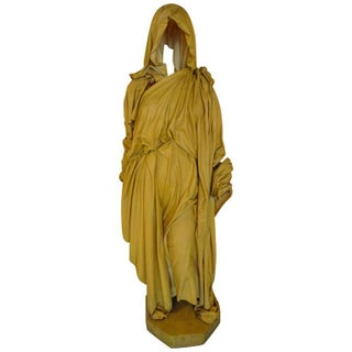 "Muriel Castanis ""Hooded Figure"" Sculpture"