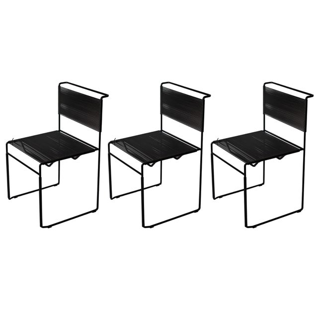 1970s Italian Fly Line Spaghetti Chairs- Set of 3 - Image 1 of 8