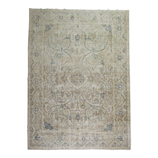 Shabby Chic Room Size Turkish Rug - 10′4″ × 14′1″