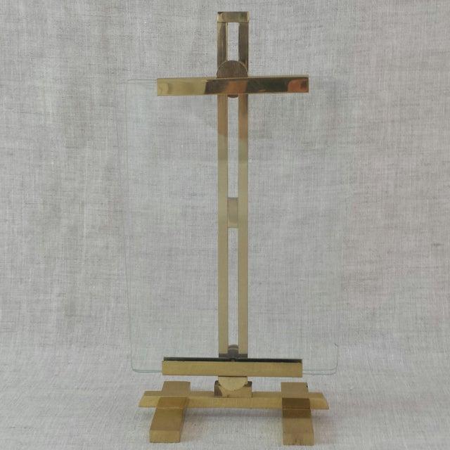 Adjustable Artwork & Photography Brass Easel - Image 2 of 7