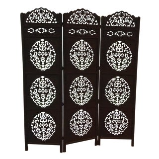 Moroccan Wooden Carved Screen