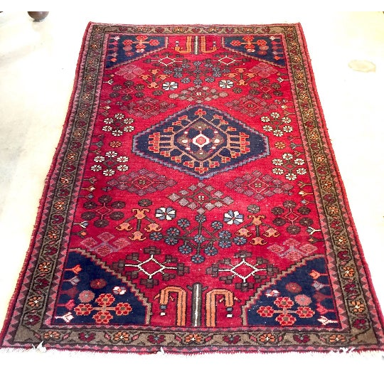 """Semi-Antique Persian Rug - 4'4"""" x 6'4"""" - Image 2 of 6"""