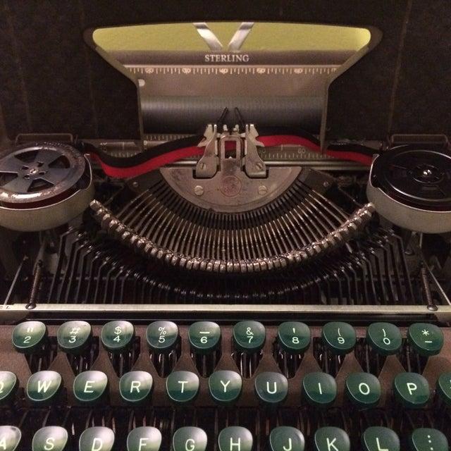 Vintage Smith-Corona Sterling Typewriter & Case - Image 4 of 8