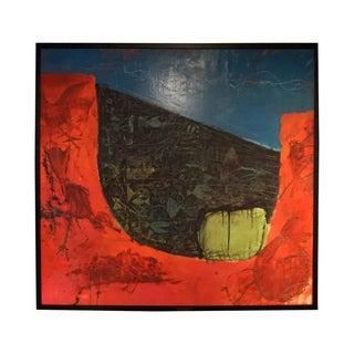 """Roberto Morales """"Especies en Lago"""" Painting, 2014"""
