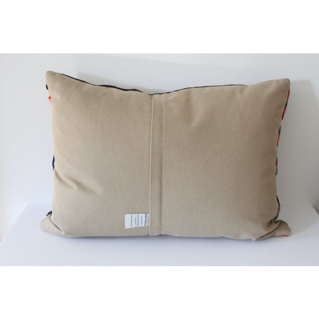 Vintage Boho Turkish Kilim Pillow - Image 3 of 4