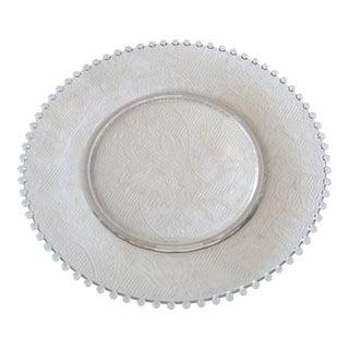 Candlewick Glass Serving Platter