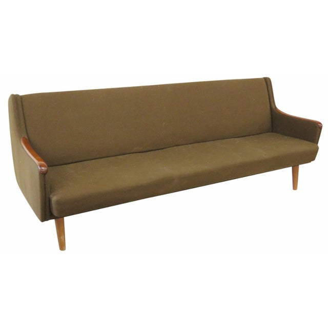 Danish Modern Daybed Pullout Sofa - Image 1 of 6