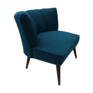 Hollywood Regency Billy Haines Style Slipper Chair