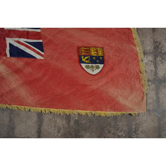 Canadian Red Ensign Original C.1930s Vintage Flag - Image 4 of 10