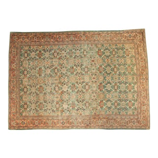 """Antique Mahal Carpet - 9'7"""" x 13'7"""""""
