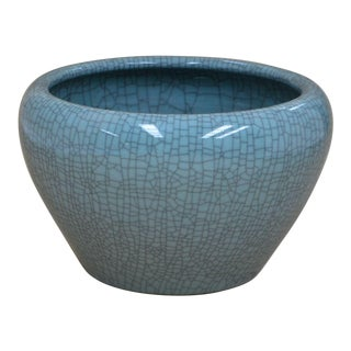 Sarreid LTD Hand Made Crackle Glaze Bowl