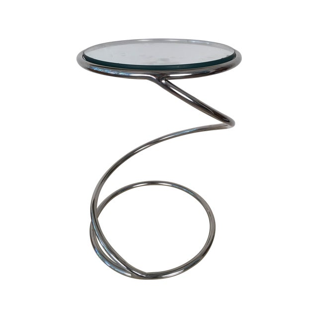 Leon Rosen for Pace Spiral Side Table - Image 1 of 7