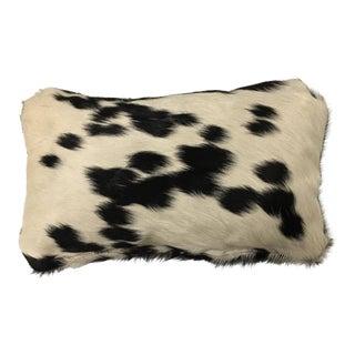 Fur Animal Hide Throw Pillow