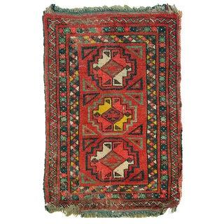 Uzbek Small Pile Rug Napramash #5 - 1′9″ × 2′9″