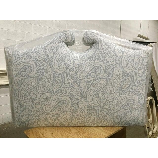 Robert Allen Upholstered Full Size Headboard - Image 2 of 4