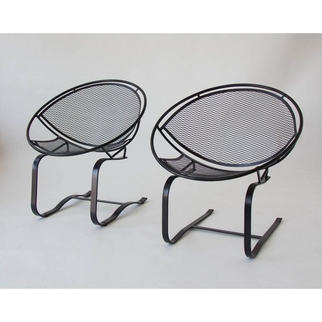 Pair of Salterini Patio Rocking Chairs by Maurizio Tempestini - Image 7 of 8