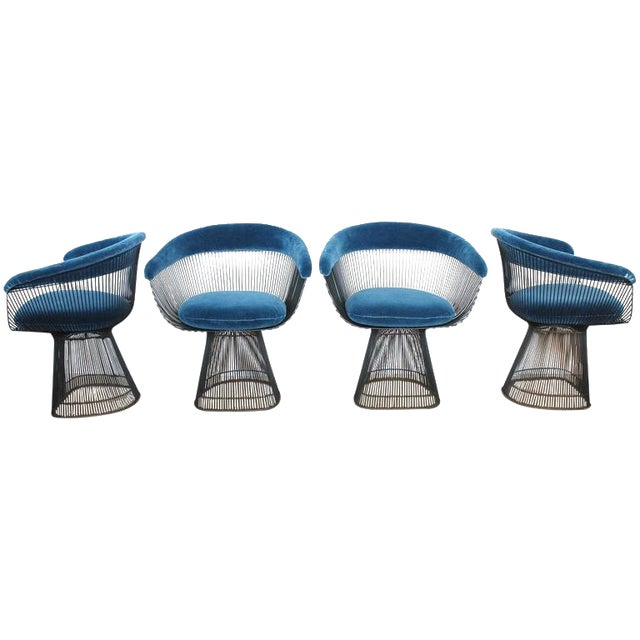 Warren Platner dining chair for Knoll - Image 1 of 3