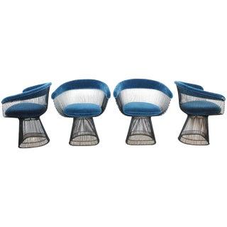 Warren Platner dining chair for Knoll