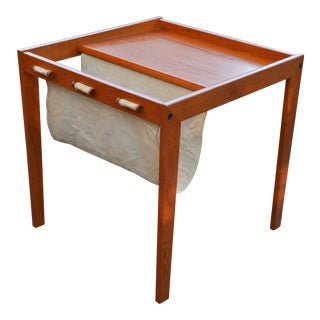 Bent Silberg Danish Modern Magazine Table
