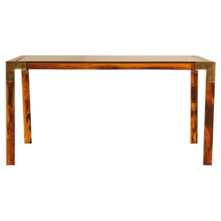 Circa 1960s Faux Tortoise Shell Coffee Table