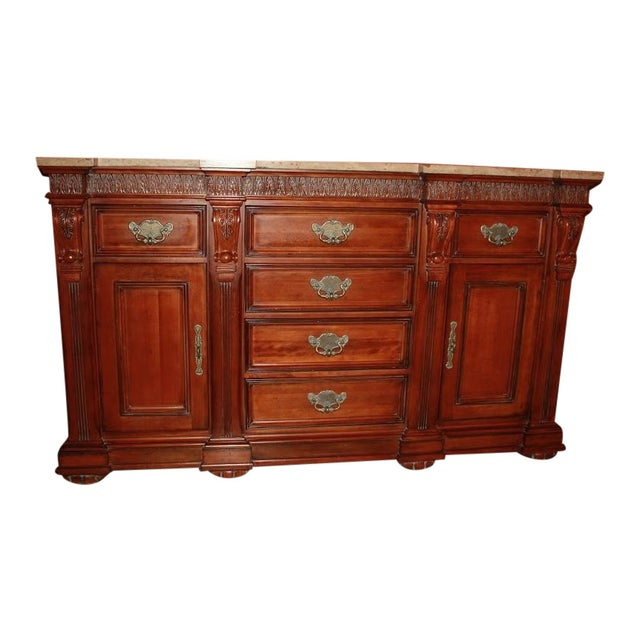 Torrean Marble Top Buffet - Image 1 of 11