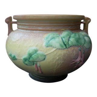 Roseville Fuchsia Jardiniere Vase