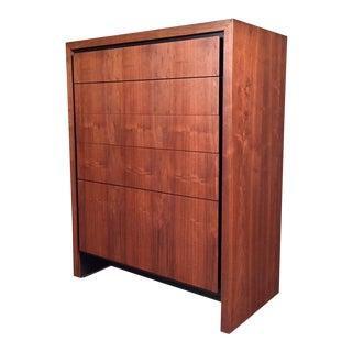 Dillingham Mid-Century Modern Walnut 6-Drawer Dresser / Chest