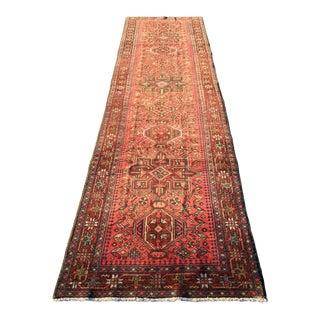 """Vintage Persian Karajeh Runner - 3'4""""x12'8"""""""