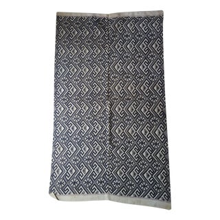 1970's Tribal Hand Embroidered Throw