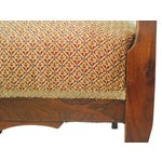 Image of American Walnut & Upholstered Armchair